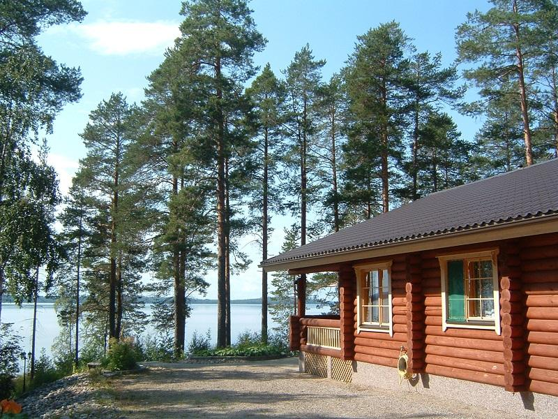 Lakeside cabin in Koli