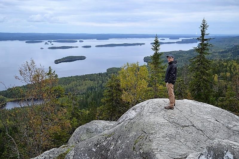 View from top of Koli Hill